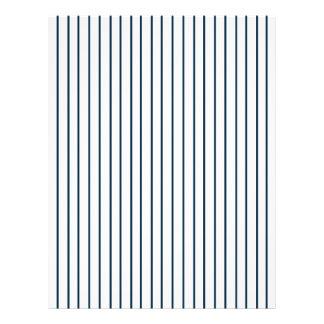 Baseball Pinstripe Striped Envelope Liner Letterhead