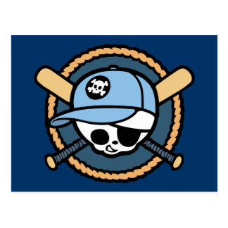 Baseball Pirate -Boys Postcard