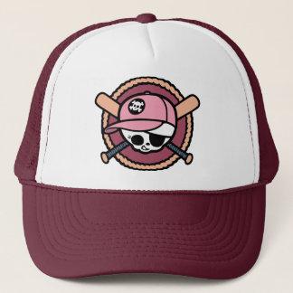 Baseball Pirate -Girls Trucker Hat
