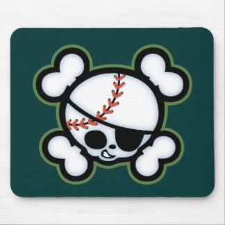 Baseball Pirate -kids Mouse Pad