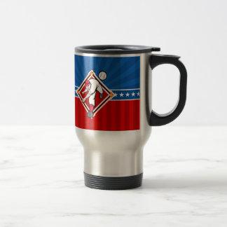 Baseball Pitch Travel Mug