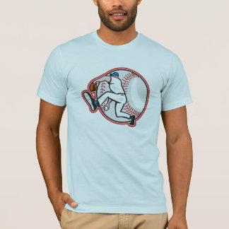 Baseball Pitcher Mens T-Shirt