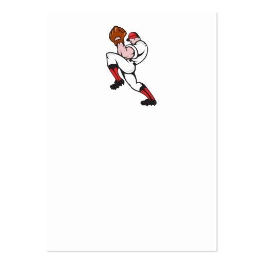 Baseball Pitcher Player Pitching Business Card