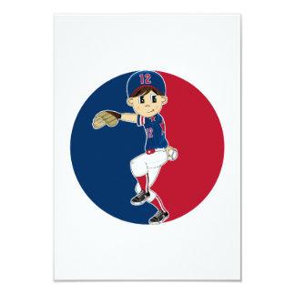 Baseball Pitcher RSVP Card