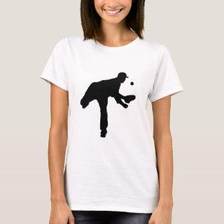 Baseball Pitcher Silhouette T-Shirt