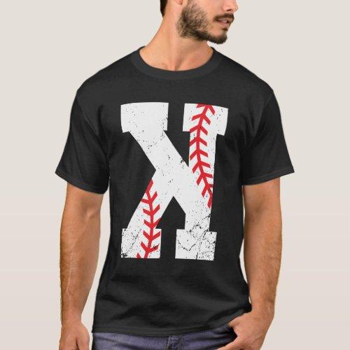 Baseball Pitcher Strikeout K T_Shirt