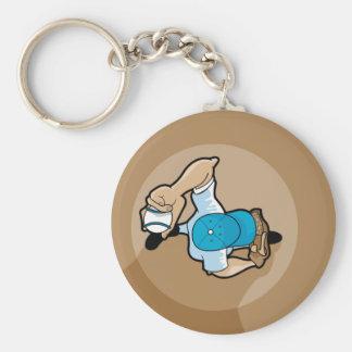 baseball pitchers mound key chains