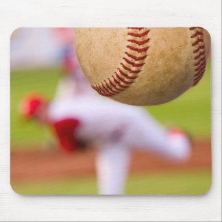 Baseball Pitching Mouse Pad
