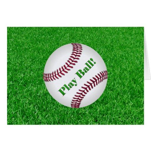 Baseball - Play Ball! Card