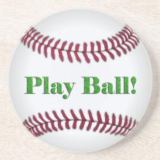 Baseball - Play Ball! Beverage Coasters