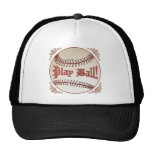 Baseball Play Ball Trucker Hat