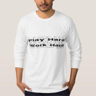 Baseball - Play Hard/Work Hard Shirt