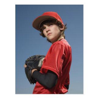 Baseball player 2 postcard