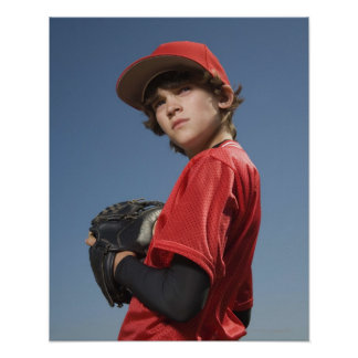 Baseball player 2 poster