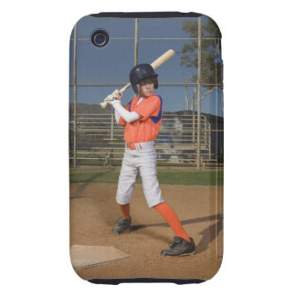 Baseball player 3 iPhone 3 tough cover