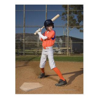 Baseball player 3 postcard