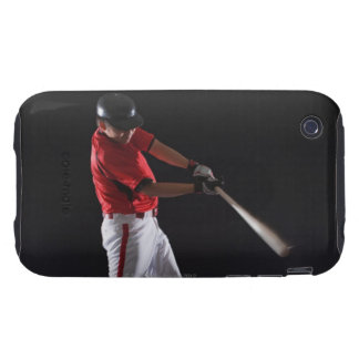 Baseball player about to hit the ball tough iPhone 3 cover