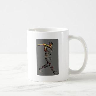 Baseball Player Artwork Coffee Mugs