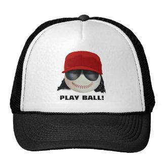Baseball Player/Baseball Fan Trucker Hat