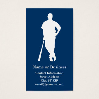 Baseball Player Business Cards