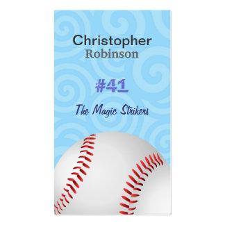 Baseball Player Business cards