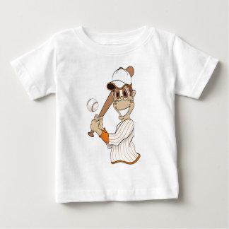 Baseball Player Cartoon Tee Shirt