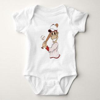 Baseball Player Cartoon T-shirt