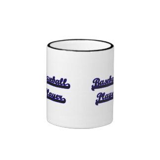 Baseball Player Classic Job Design Ringer Coffee Mug