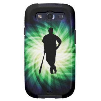 Baseball Player Cool Samsung Galaxy S3 Cover