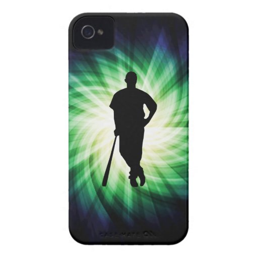 Baseball Player; Cool iPhone 4 Case-Mate Cases