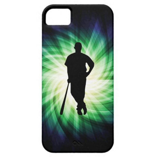 Baseball Player; Cool iPhone 5 Case