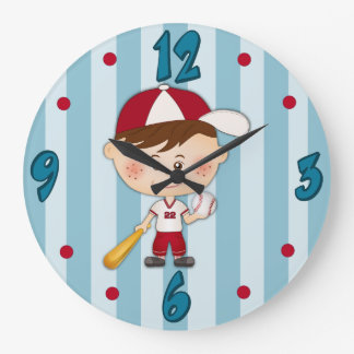 Baseball Player-Custom Baseball Clock