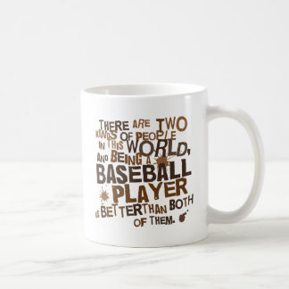 Baseball Player (Funny) Gift Coffee Mug