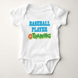 Baseball Player In Training kids sports Tee Shirt