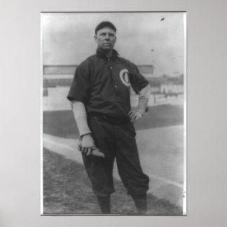 "Baseball Player - Mordecai ""Three Finger"" Brown Poster"