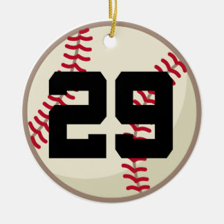 Baseball Player Number 29 Ornament