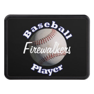 Baseball Player Hitch Cover
