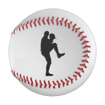 Baseball Player Pitcher Windup