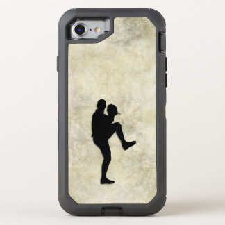 Baseball Player Pitcher Windup OtterBox Defender iPhone 8/7 Case