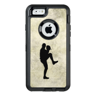 Baseball Player Pitcher Windup OtterBox Defender iPhone Case