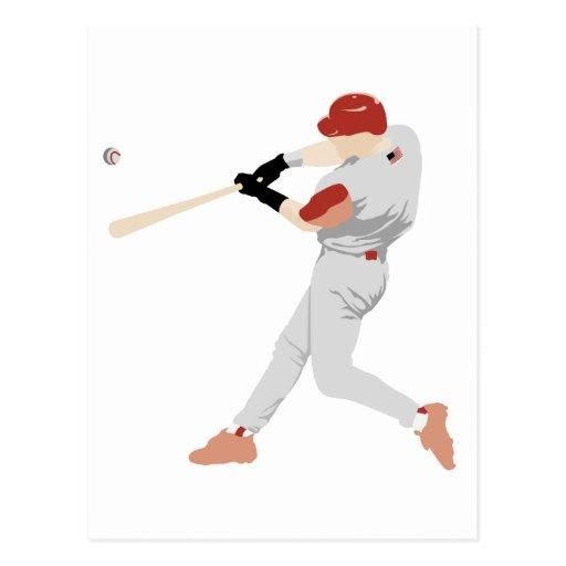 Baseball Player Postcard