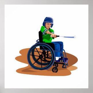 Baseball Player Print