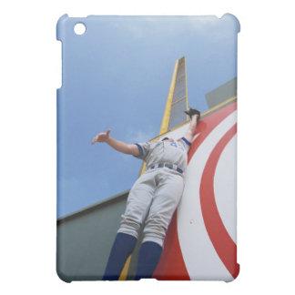 Baseball Player Reaching for Ball iPad Mini Case