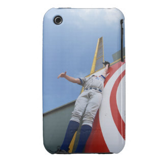 Baseball Player Reaching for Ball iPhone 3 Case-Mate Case