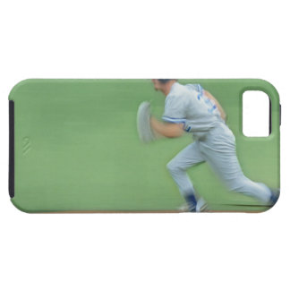 Baseball Player Running to Base iPhone 5 Cases