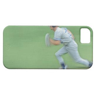 Baseball Player Running to Base iPhone SE/5/5s Case