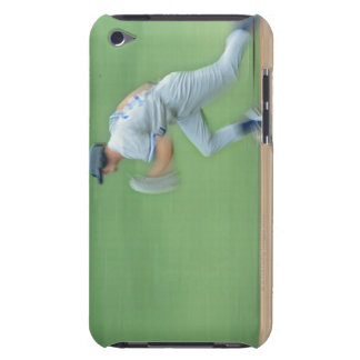 Baseball Player Running to Base iPod Touch Cover