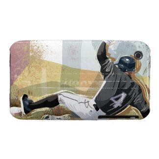 Baseball Player Sliding 2 Case-Mate iPhone 3 Case