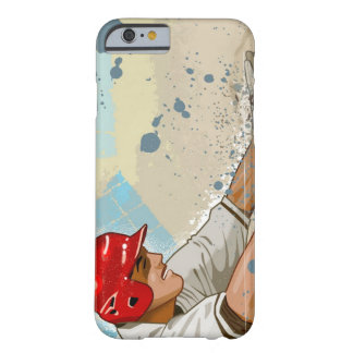 Baseball player sliding into base barely there iPhone 6 case