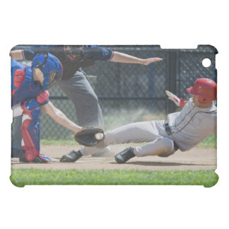 Baseball player sliding into home plate case for the iPad mini